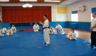 Alain teaching in Boise, ID, 2004